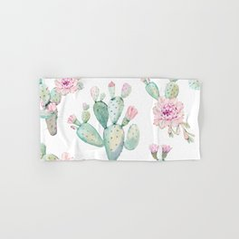 Simply Cactus Rose Hand & Bath Towel
