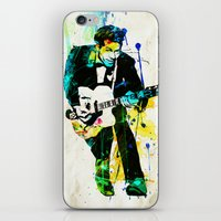 chuck iPhone & iPod Skins featuring chuck berry by manish mansinh