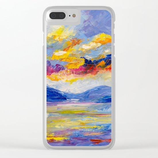 Bright cloud Clear iPhone Case