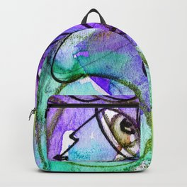 Abstract Nude Goddess No. 40C by Kathy Morton Stanion Backpack