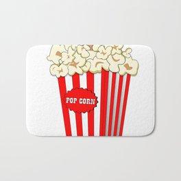 Popcorn time Bath Mat