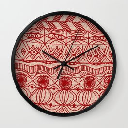 Cranberries and Cream Wall Clock