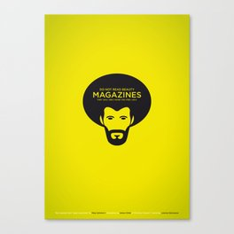 Sunscreen / Do not read beauty magazines Canvas Print