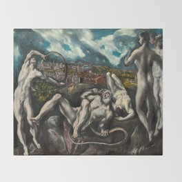 El Greco, Laocoon, 1610 Throw Blanket