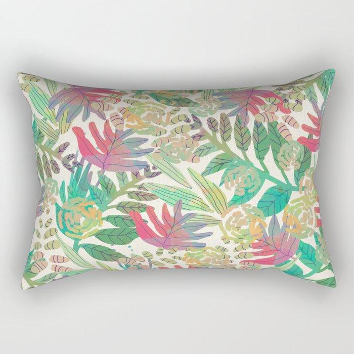 Jungle vector illustration Rectangular Pillow