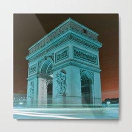 Arc_de_Triomphe_2015_0406 Metal Print