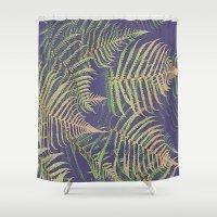 fern Shower Curtains featuring Fern by 83 Oranges™