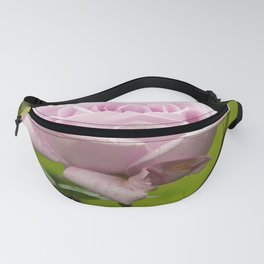 Blue Girl Rose Fanny Pack