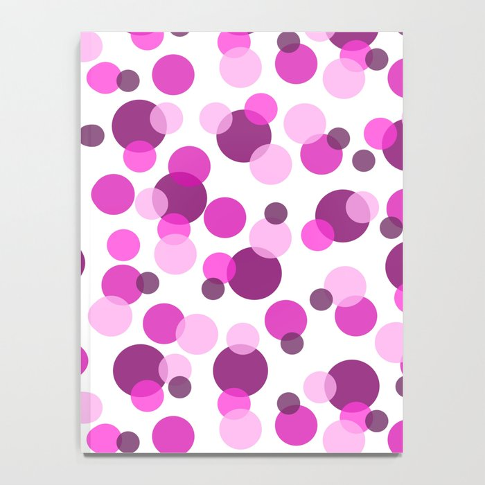 Pink and Purple Spots Notebook