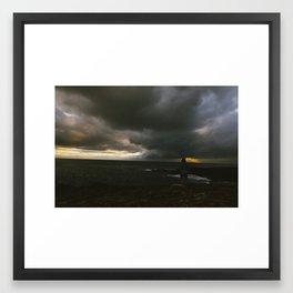 Sunset from O'ahu Framed Art Print