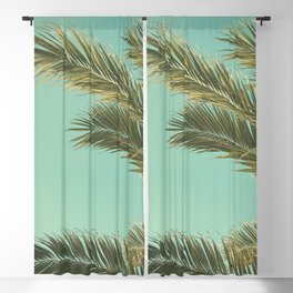 Autumn Palms II Blackout Curtain