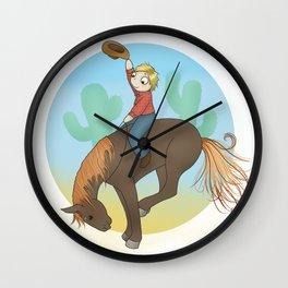 Yee Haw! Wall Clock