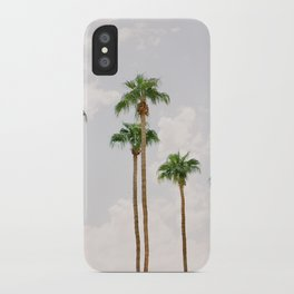 Palm Springs Palm Trees iPhone Case