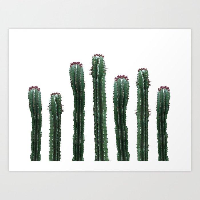 Cactus Mood Art Print by cafelab