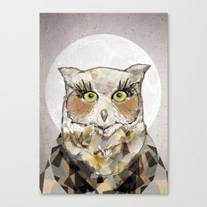The Great Horned Owl Canvas Print