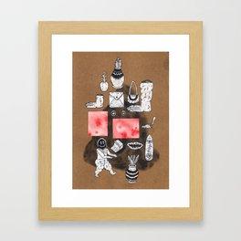 Imaginary Showcase Framed Art Print