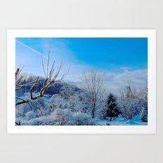 Good Morning Winter Art Print