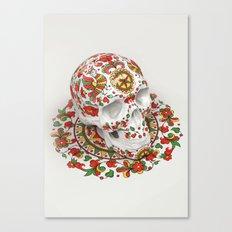 Dvina Skull Canvas Print