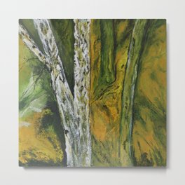 Springtime In The Woods Metal Print