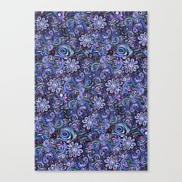 Lilith and Lavender Canvas Print