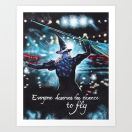 To Fly Art Print
