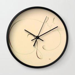 String Cat Deenah Wall Clock