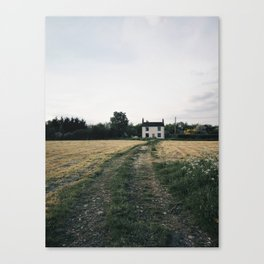 farm in the countryside Canvas Print