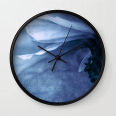 Lover's Blues Wall Clock