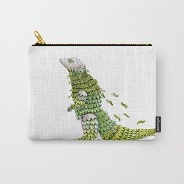 Lizard. Defoliating Carry-All Pouch