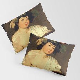 Carvaggio - Bacchus 1595 Pillow Sham