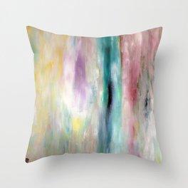 White Ocean Throw Pillow