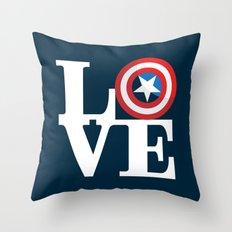 Captain's Love Throw Pillow