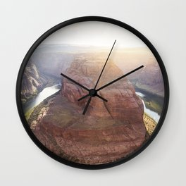 Horseshoe Bend Wall Clock