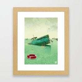 Shipyard Kings Swimming Framed Art Print
