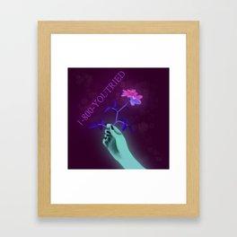 Nice try Framed Art Print
