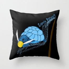 Expecto Patronum Turtle Throw Pillow