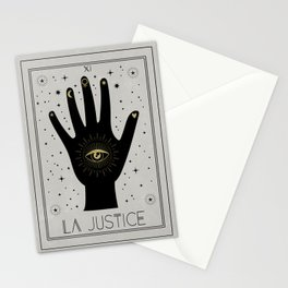 La Justice or The Justice Tarot Stationery Cards