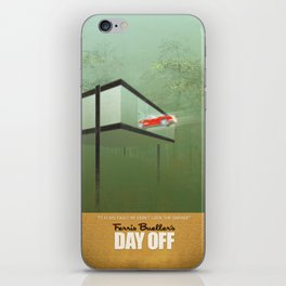 """""""You killed the car"""" - Ferris Bueller's Day Off iPhone Skin"""