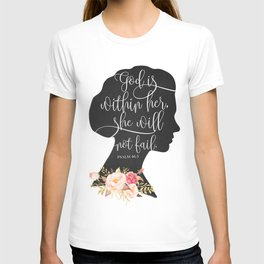 God with Within Her T-shirt