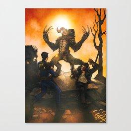 Fallout Companion: Max Rockatansky Canvas Print
