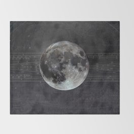 The Moon Throw Blanket