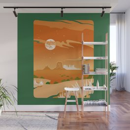 Monument Moon Wall Mural