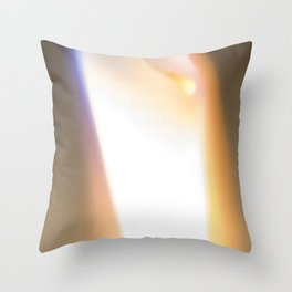 Let Your Flame Show Throw Pillow