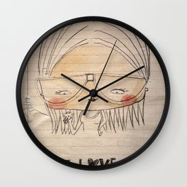 I love cookies! Wall Clock
