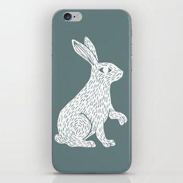 White Rabbit iPhone Skin