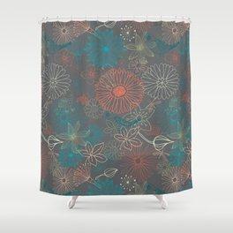 Grey Dreams Shower Curtain