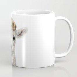 Cute Lamb wearing a Beret Coffee Mug
