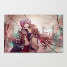 Unknown X MC Canvas Print