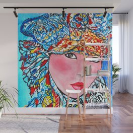 LUNA #society6 #decor #buyart My artwork is featured in MagCloud, Pink Panther Magazine, issue 25 Wall Mural