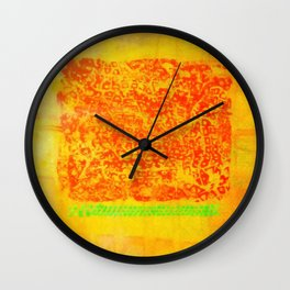 hot summer Wall Clock